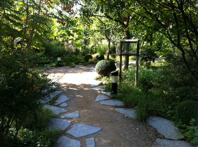Terrasse Robinier Lyon : Un jardin dans l u2019Ecole normale sup u00e9rieure de Lyon (France